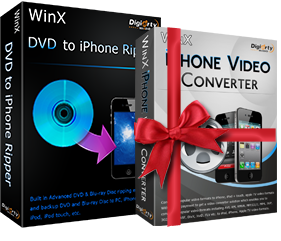 WinX DVD Ripper to iPhone