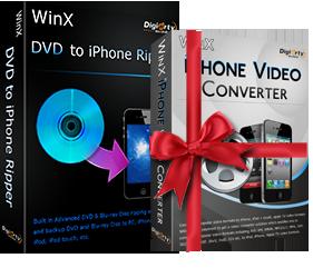 WinX DVD Ripper to iPhone screenshot